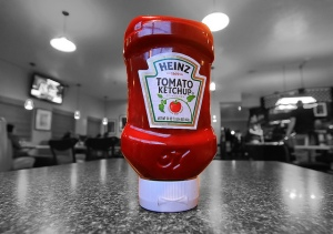 """Photo:  """"Heinz Tomato Ketchup"""" ©2011 by Dave Toussaint (retrieved from www.flickr.com)"""