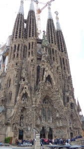 Sagrada Familia - Outside